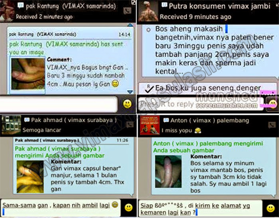 Testimoni pengguna vimax